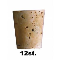 Konische kurk 17 x 20 mm, 12 st.