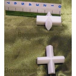 Roervlo kruis 25x13 mm