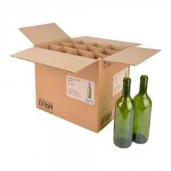 Bordeaux fles 0,75 per stuk