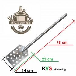 Roerspaan rvs 76 cm