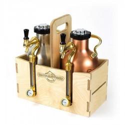 GrowlerWerks uKeg™ 64 houten kist
