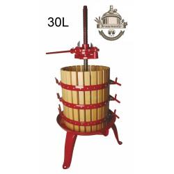 fruitpers gelakt 30L Type 30 brouwmaatje.nl zelf wijn destillaat maken