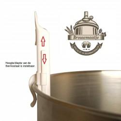maisch-thermometer met huls -10 / +110 °C