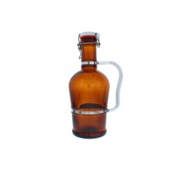 2 liter bier siphon met metalen greep