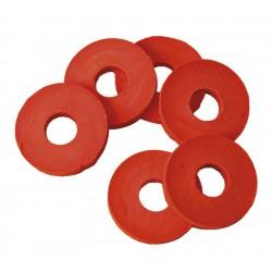 rubberen ringen voor beugels, 12 stuks