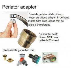 Kraan perlator adapter