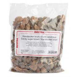Kandijsuiker bruin brokken 1kg
