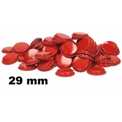 Kroonkurk rood 29 mm ca. 50...