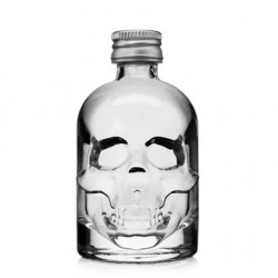Fles Skull 50ml met draaidop