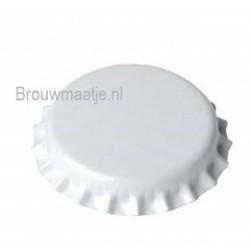 Kroonkurk kleur wit 26 mm...